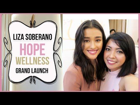 LIZA SOBERANO HOPE WELLNESS GRAND LAUNCH   Gen-zel Habab