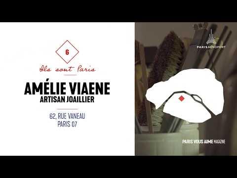 Coup de cur Paris vous aime magazine : l'artisan joaillier Amélie Viaene