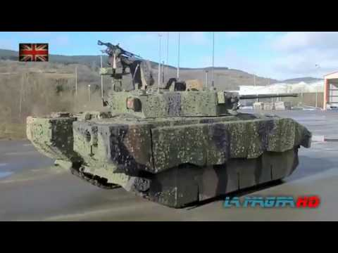 New Infantry Fighting Vehicle Ajax (Scout SV)