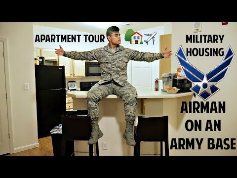 Living On An Army Base   Military Housing Tour