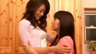 Japanese girls | Step mom seducing daughter stripped naked lesbian scene | candy lover