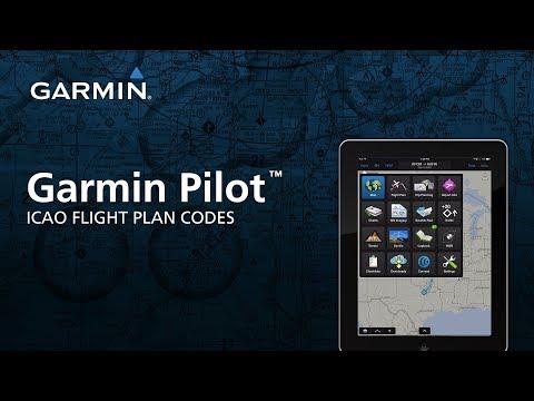 Garmin Pilot™: ICAO Flight Plan Codes