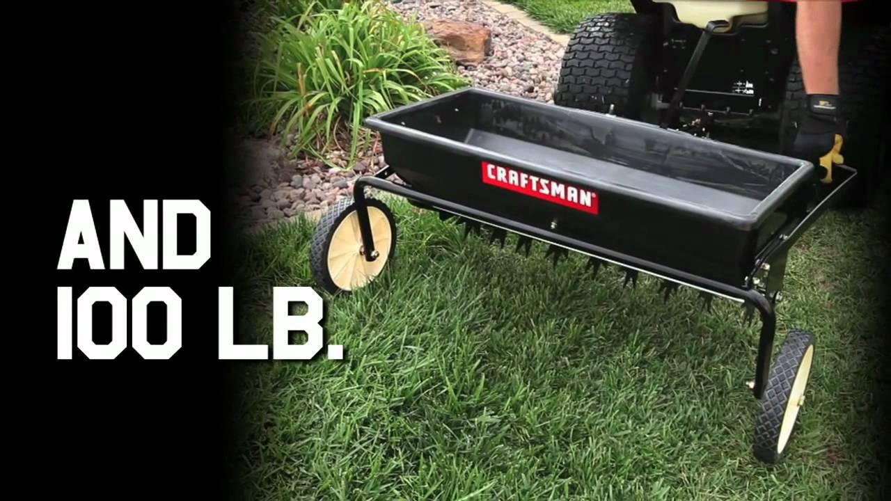 Craftsman Tractor Attachments 100lb