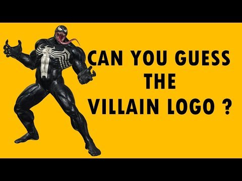 Only True Fans Can Guess The Supervillain Logo !!