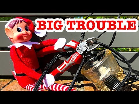 SYDNEY HAIL STORM BIG TROUBLE Naughty Elf On The Shelf & Thomas Toys Shopping