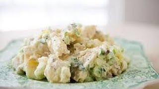 Вкусный американский  картофельный  салат видео рецепт # 4(Время подготовки 8 мин Время приготовления 20 мин ИНГРЕДИЕНТЫ: 700 гр. картофеля (желательно молодого или..., 2014-06-29T23:02:35.000Z)