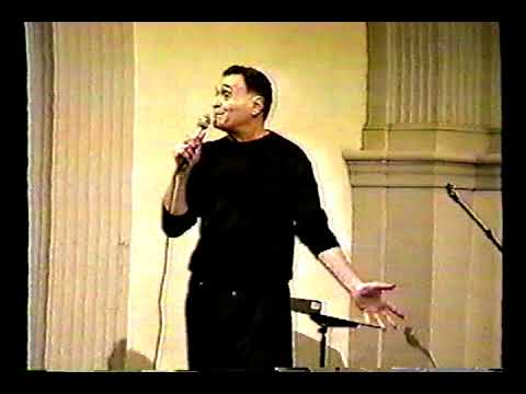 John Giorno The Death of William Burroughs Poetry Project Marathon 1998