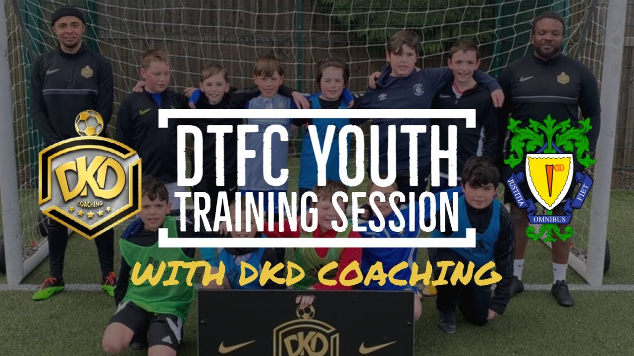 DKD Coaching Lead a Training Session for Our Youth Players