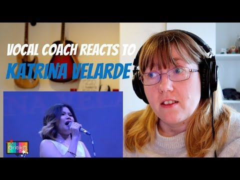 Vocal Coach Reacts to Katrina Velarde - What kind of fool am I?