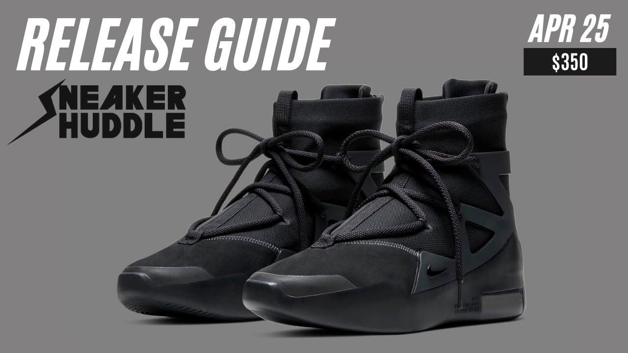 Nike Fear Of God 1 'Triple Black' | How