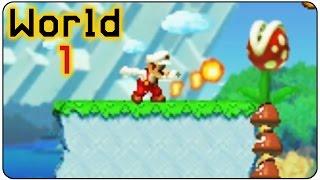 Super Mario Maker 3DS - 100% Walkthrough - World 1 All Medals