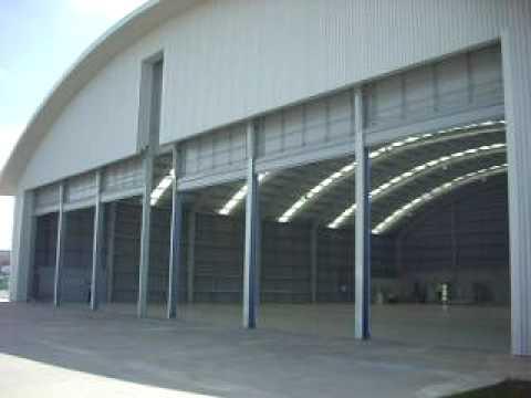 Envico High Speed Vertical Lift Hangar Door System With