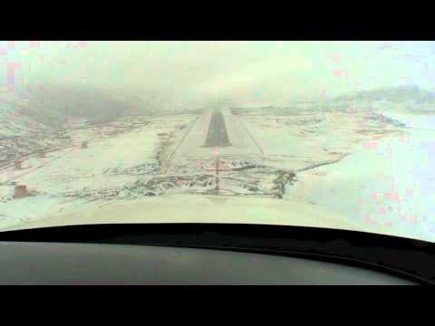 Localizer DME 09 Approach Kangerlussuaq / BGSF
