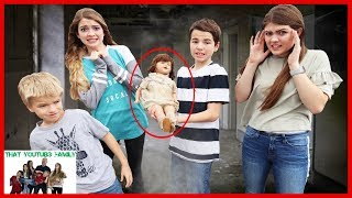 Strange Mysterious MYSTERY DOLL Showed Up At Our House THE DOLLMAKER PART 2 / That YouTub3 Family