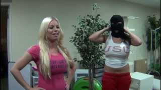 "Slivan #285 - ""Golden Implant Heist"" behind the scene w/ Britney Amber & Missy Martinez"