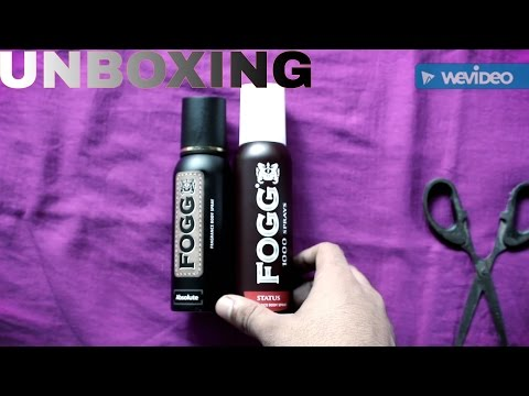 Fogg Body Spray Unboxing | Pack of two 1) Absolute & 2) Status