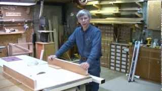 This video is not available. Table Saw Cross-Cut Sled - Winky's Woodworking Tips