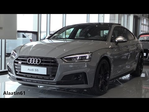 Audi S5 Sportback 2018 Exhaust Sound, In Depth Review Interior Exterior
