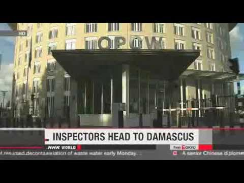 OPCW inspectors bound for Syria