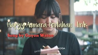 Perlahan - Guyon Waton (Cover Hapy Asmara)