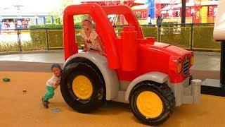 �������� ���� Леголенд Дубай Парк развлечений для детей София Выиграла Гигантский Подарок Сюрприз для детей ������