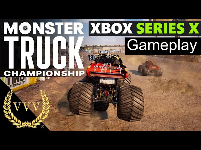 Monster Truck Championship - Xbox Series X Gameplay and chat