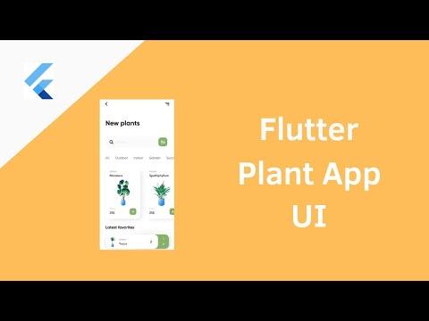 Flutter Plant App UI - Speed Coding Tutorial