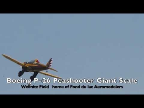 Boeing P-26 Peashooter Giant Scale
