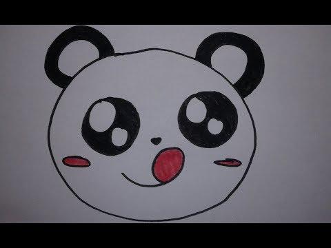 Comment Dessiner Un Panda Kawaii Speed Draw Youtube