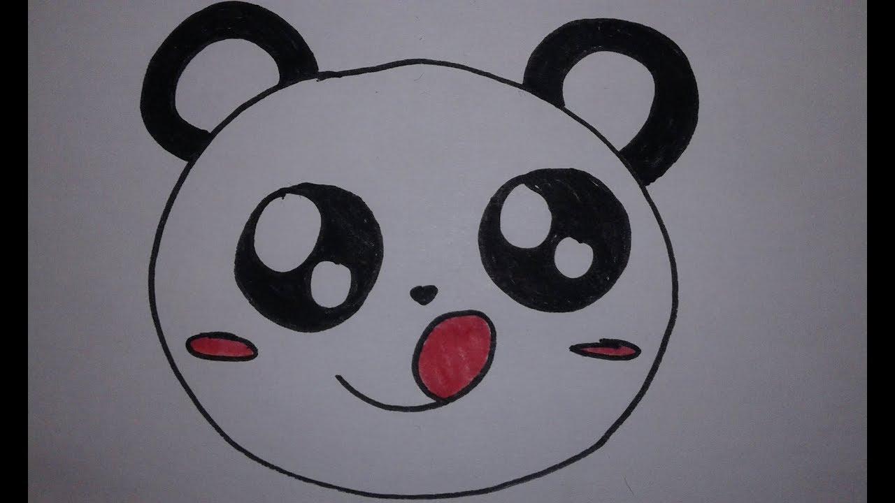 Comment Dessiner Un Panda Kawaii Speed Draw