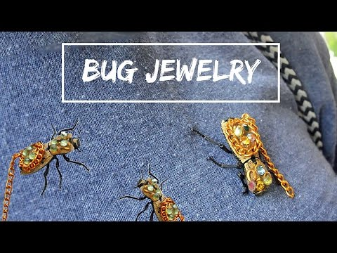 LIVE INSECT JEWELRY in MEXICO