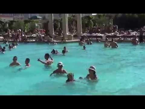 Pool in Venetian- Las Vegas 6/2015