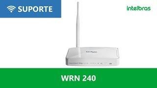 Como configurar Roteadores Intelbras WRN 240, WRN240i e WRN342 para Vivo Speedy - i3121