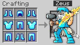 Minecraft, But You Cąn Craft Gods...