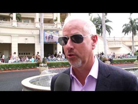 Gulfstream Park: Todd Pletcher talks about Always Dreaming in the FL Derby