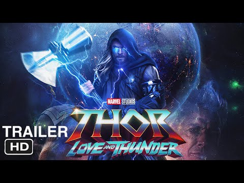 "Thor 4: The Love and Thunder ""Teaser Trailer"" (2022) Chirs Hemsworth, Christian Bale 'Marvel Concept"