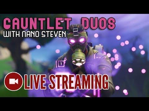 🔴 Playing Gauntlet Duos W/ Nano Steven