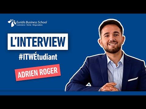 ITW Etudiant - Adrien Roger, Master 2  Ingénieur d'Affaires