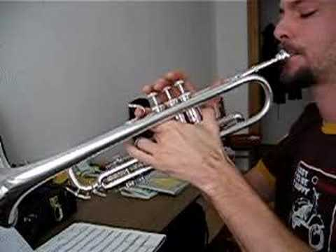 Imperial march star wars - solo trompeta