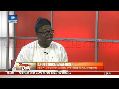 ASUU Strike: Babalakin,Prof Ogunyemi Seek Solution To Improving Nigeria's Education System Pt.3