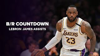 B/R Countdown   LeBron James' Best Assists With New-Look Lakers