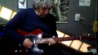 Dig a Pony - George Harrison - guitar solo