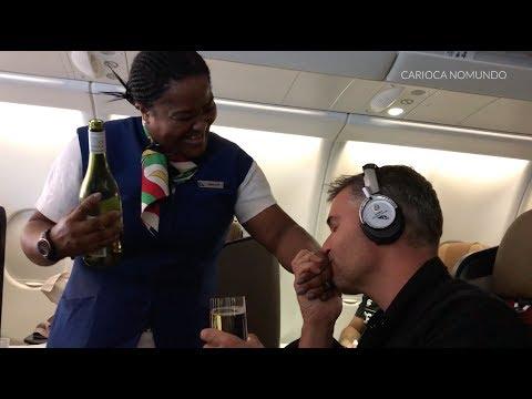 SOUTH AFRICAN AIRWAYS - NEW BUSINESS CLASS (GRU-JNB)