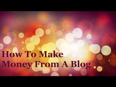 How To Make Money From A Blog Using Leveraged Income