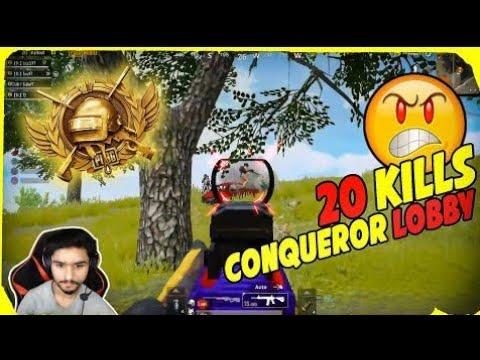 Download 20_KILLS_|_DESTROYING_CONQUEROR_LOBBY_|_PUBG_MOBILE_CONQUEROR_ASIA(720p)