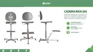 FortMóveis - Cadeira Inox 304