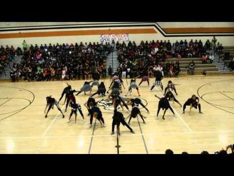 Cesar Chavez Junior High School Tiger Dance Squad
