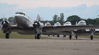 DAKS OVER NORMANDY - Mass Take Off From Duxford