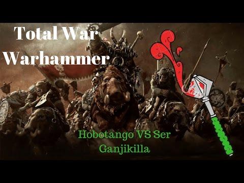 Total war : Warhammer Online battle . Chaos vs Dwarfs |
