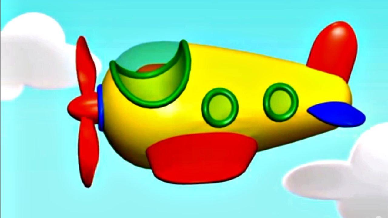 Mon Petit Avion. Jeu D'assemblage. Dessin Animé Pour Enfants
